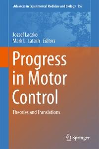 Cover Progress in Motor Control
