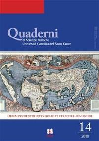 Cover Quaderni di Scienze Politiche 14/2018
