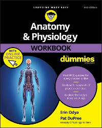 Cover Anatomy & Physiology Workbook For Dummies with Online Practice