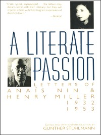 Cover A Literate Passion