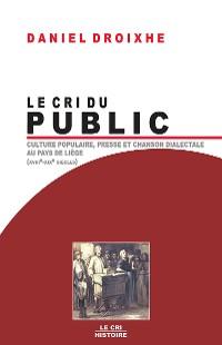 Cover Le Cri du public