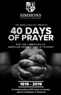 Cover The Angela Project Presents 40 Days of Prayer