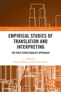 Cover Empirical Studies of Translation and Interpreting
