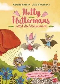 Cover Hetty Flattermaus rettet die Wiesenwesen