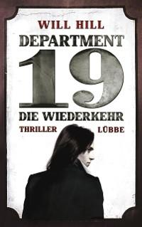 Cover Department 19 - Die Wiederkehr