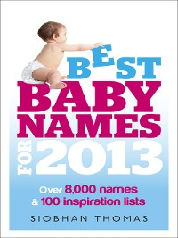 Cover Best Baby Names for 2013
