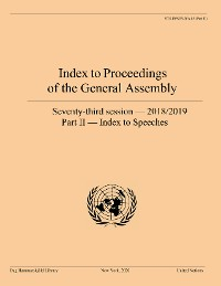 Cover Index to Proceedings of the General Assembly 2018/2019
