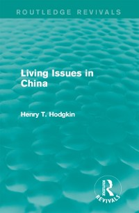 Cover Living Issues in China