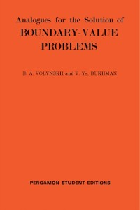 Cover Analogues for the Solution of Boundary-Value Problems