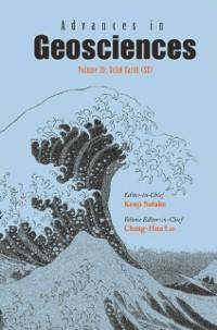 Cover Advances In Geosciences (A 6-volume Set) - Volume 26: Solid Earth (Se)