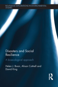 Cover Disasters and Social Resilience