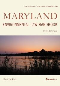 Cover Maryland Environmental Law Handbook