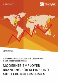 Cover Modernes Employer Branding für kleine und mittlere Unternehmen. Ein Handlungsleitfaden für den Aufbau einer Arbeitgebermarke