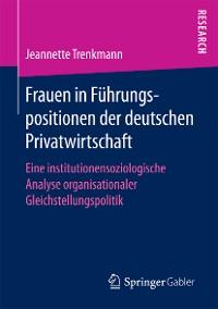 Cover Frauen in Führungspositionen der deutschen Privatwirtschaft