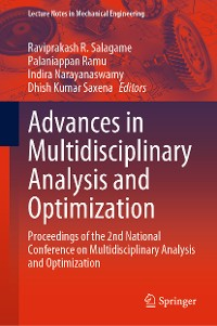 Cover Advances in Multidisciplinary Analysis and Optimization