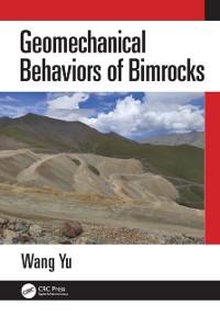 Cover Geomechanical Behaviors of Bimrocks