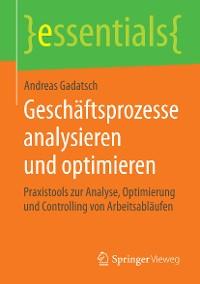 Cover Geschäftsprozesse analysieren und optimieren