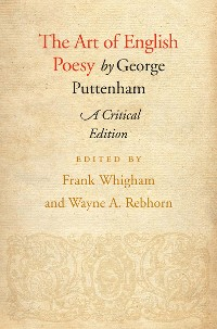 Cover The Art of English Poesy
