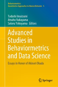Cover Advanced Studies in Behaviormetrics and Data Science