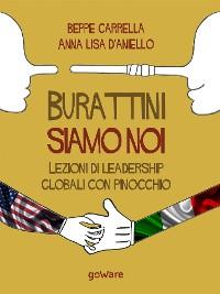 Cover Burattini siamo noi. Lezioni di leadership globali con Pinocchio