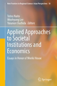 Cover Applied Approaches to Societal Institutions and Economics