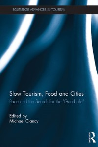 Cover Slow Tourism, Food and Cities