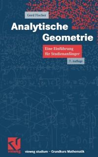 Cover Analytische Geometrie