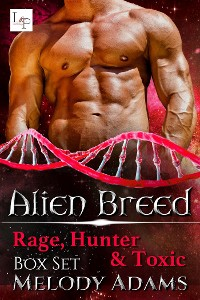 Cover Rage, Hunter & Toxic - Alien Breed Box Set