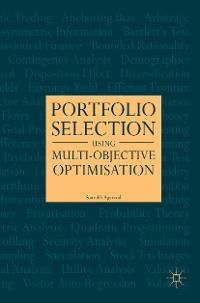 Cover Portfolio Selection Using Multi-Objective Optimisation