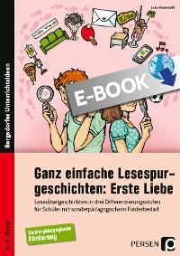 Cover Ganz einfache Lesespurgeschichten: Erste Liebe
