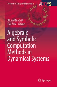 Cover Algebraic and Symbolic Computation Methods in Dynamical Systems