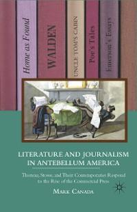 Cover Literature and Journalism in Antebellum America