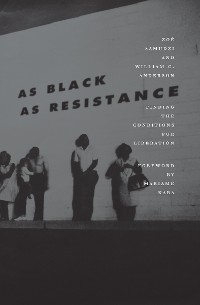 Cover As Black as Resistance