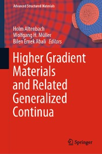 Cover Higher Gradient Materials and Related Generalized Continua