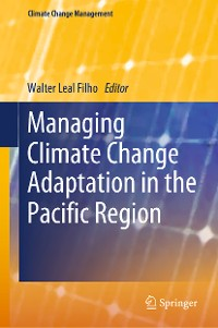Cover Managing Climate Change Adaptation in the Pacific Region