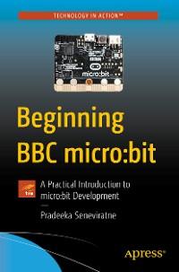 Cover Beginning BBC micro:bit