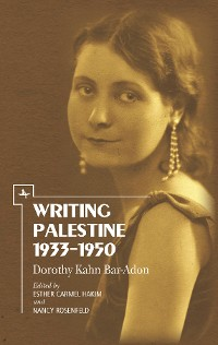 Cover Writing Palestine 1933-1950