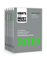 Cover 5 Years of Must Reads from HBR: 2019 Edition