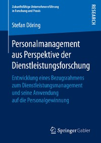 Cover Personalmanagement aus Perspektive der Dienstleistungsforschung