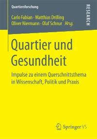 Cover Quartier und Gesundheit