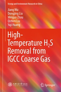 Cover High-Temperature H2S Removal from IGCC Coarse Gas