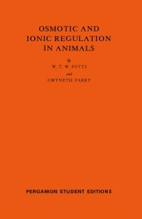 Cover Osmotic and Ionic Regulation in Animals