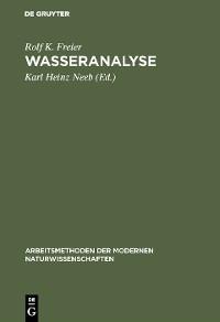 Cover Wasseranalyse