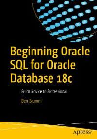 Cover Beginning Oracle SQL for Oracle Database 18c
