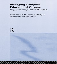 Cover Managing Complex Educational Change
