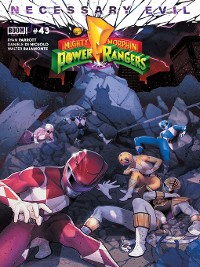 Cover Mighty Morphin Power Rangers, Issue 43