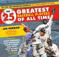 Cover 25 Greatest Baseball Players of All Time