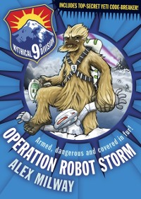 Cover Operation Robot Storm