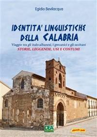 Cover Identità linguistiche della Calabria
