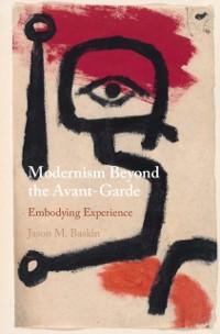 Cover Modernism Beyond the Avant-Garde